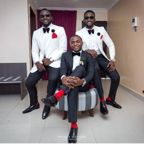 Lilian Esoro & Ubi Franklin White Wedding LoveweddingsNG - Prince Meyson photography