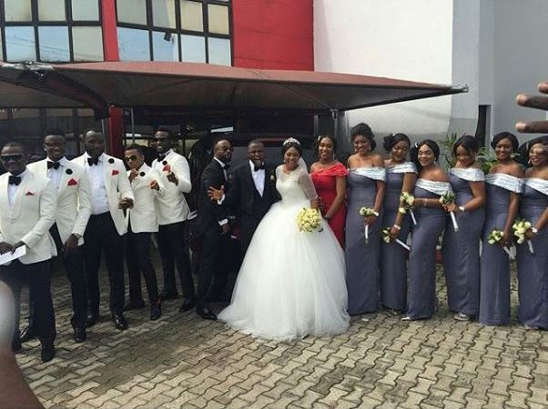 Lilian Esoro & Ubi Franklin White Wedding LoveweddingsNG2