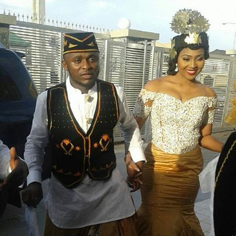 Lilian Esoro & Ubi Franklin White Wedding LoveweddingsNG3