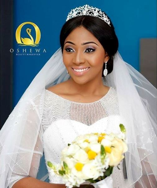 Lilian Esoro & Ubi Franklin White Wedding LoveweddingsNG4