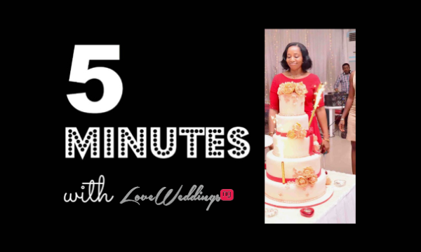 Philomina went from baking cakes for free to owning a wedding cake business