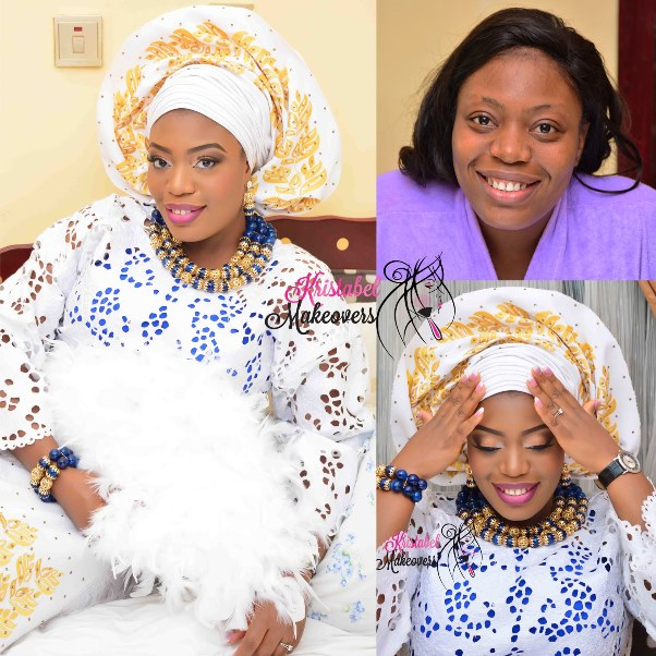 LoveweddingsNG Before and After Kristabel Makeovers1