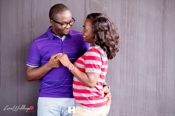Nigerian Engagement Shoot - Titilayo and Olaolu Seun Kilanko Studios LoveweddingsNG