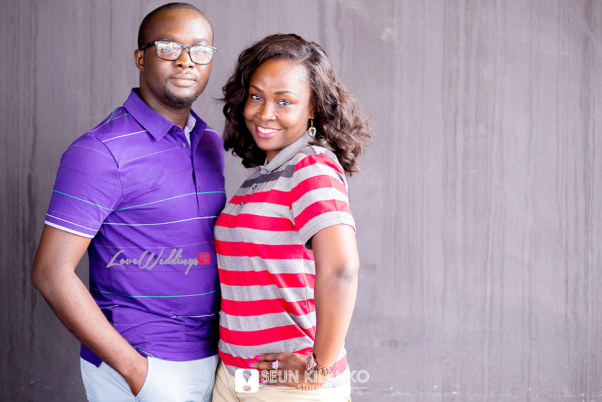 Nigerian Engagement Shoot - Titilayo and Olaolu Seun Kilanko Studios LoveweddingsNG1