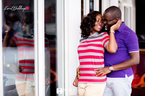 Nigerian Engagement Shoot - Titilayo and Olaolu Seun Kilanko Studios LoveweddingsNG2