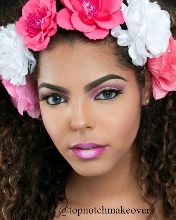 Nigerian Makeup Artist - Topnotch Makeovers LoveweddingsNG