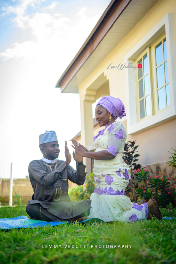 Nigerian Muslim Pre Wedding Shoot - Kamilah & Yakubu's Engagement Session Lemmy Vedutti LoveweddingsNG10