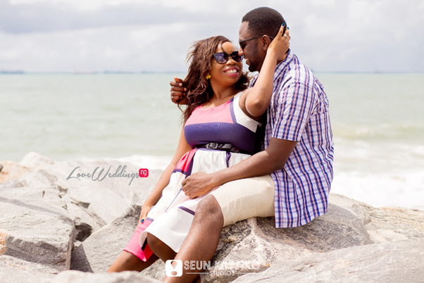 Nigerian Pre Wedding Shoot - Sope and Dotun LoveweddingsNG Seun Kilanko Studios