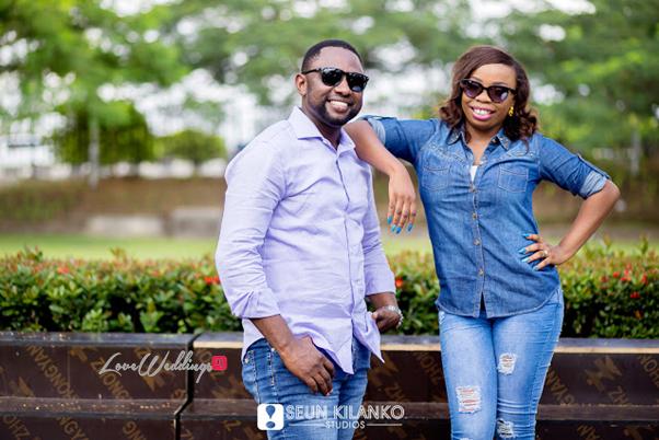 Nigerian Pre Wedding Shoot - Sope and Dotun LoveweddingsNG Seun Kilanko Studios10