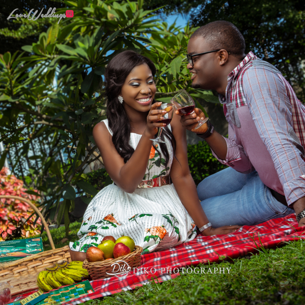Nigerian Pre wedding Shoot - Olubusola and Oriyomi LoveweddingsNG Diko Photography3