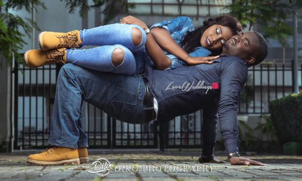Olubusola & Oriyomi's Engagement Session | Diko Photography