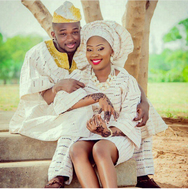 Nigerian Traditional Prewedding Shoot - LoveweddingsNG