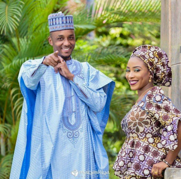 Nigerian Traditional Prewedding Shoot - Maigaskiya