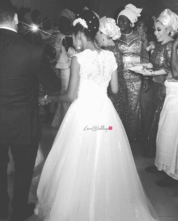Nigerian White Wedding - Temitope and Pablo LoveweddingsNG11