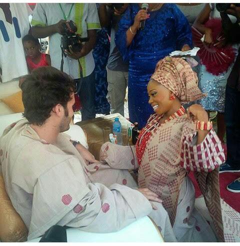 Tosyn Bucknor and Boyer Aurelien Traditional Wedding LoveweddingsNG4