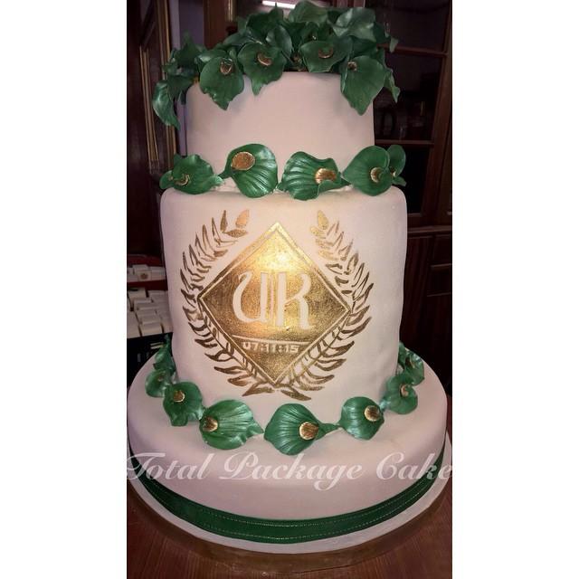 Uche Okonkwo and Kachi Asugha Traditional Wedding LoveweddingsNG - Wedding Cake1