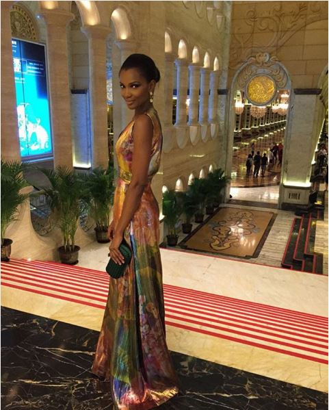 Agbani Darego in Tiffany Amber - Miss World 2015 LoveweddingsNG 1
