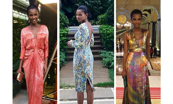 Agbani Darego in Tiffany Amber - Miss World 2015 LoveweddingsNG feat