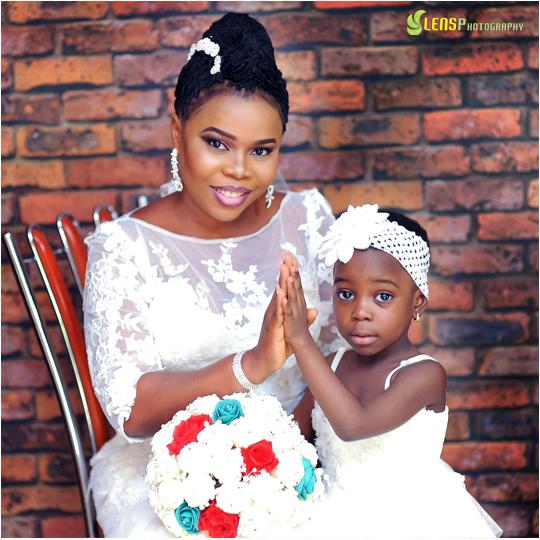 Chidinma Ekile's sister - Gift weds Chucks LoveweddingsNG 2