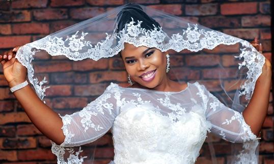 Chidinma Ekile's sister – Gift weds Chucks: Photos