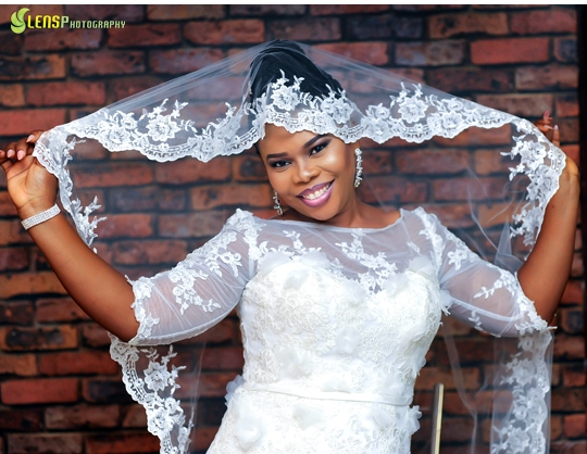 Chidinma Ekile's sister - Gift weds Chucks LoveweddingsNG