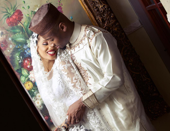 Di'Ja and Rotimi Traditional Wedding Pictures LoveWeddingsNG