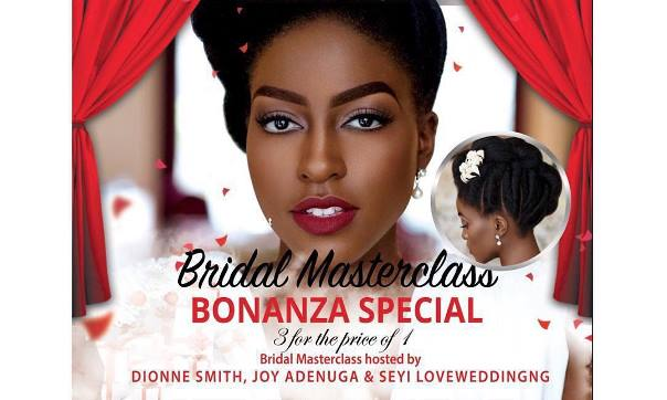 Dionne Smith Academy Bridal Masterclass LoveweddingsNG