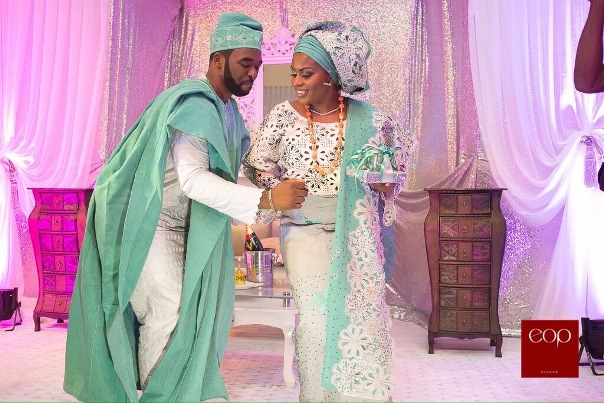 Liz Awoliyi and Tosin Osho's Traditional Engagement LoveweddingsNG 3