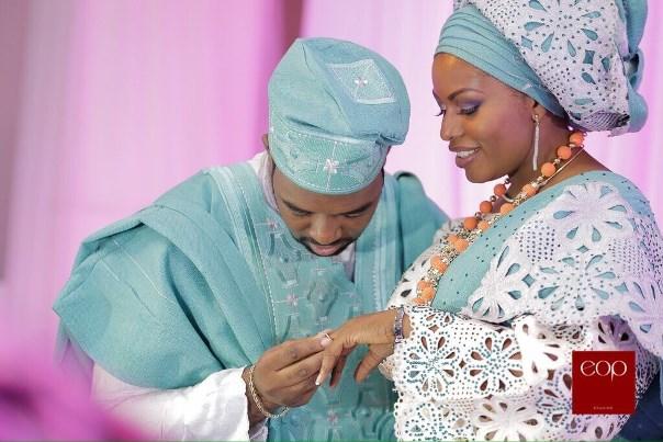 Liz Awoliyi and Tosin Osho's Traditional Engagement LoveweddingsNG 4