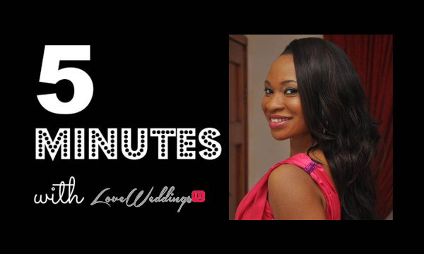 LoveweddingsNG 5 Minutes With Bukky Love Bug Florist NG