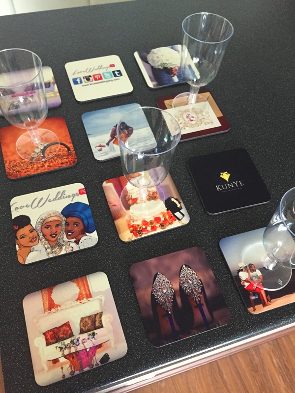 LoveweddingsNG Product Review Snapfish Personalised Coasters 2