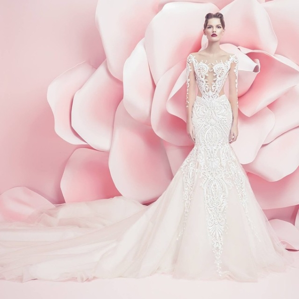 Michael Cinco Spring Summer 2016 Bridal Collection LoveweddingsNG1