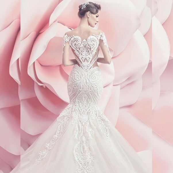 Michael Cinco Spring Summer 2016 Bridal Collection LoveweddingsNG2