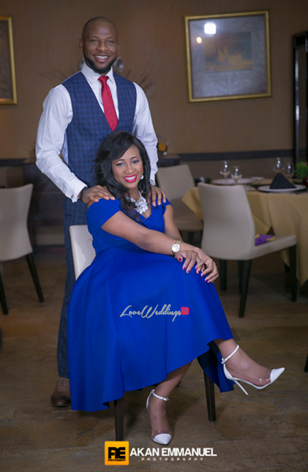 Nigerian Engagement Session - Ify and Ben Akan Emmanuel Photography LoveweddingsNG
