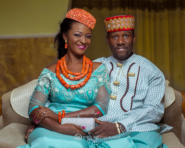 Nigerian Traditional Wedding Pictures - Elisabeth and Fabia Diko Photography LoveweddingsNG 11