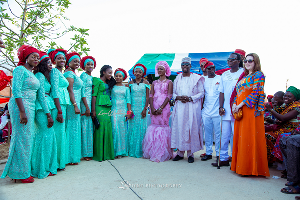 Nigerian Traditional Wedding Pictures - Elisabeth and Fabia Diko Photography LoveweddingsNG 8