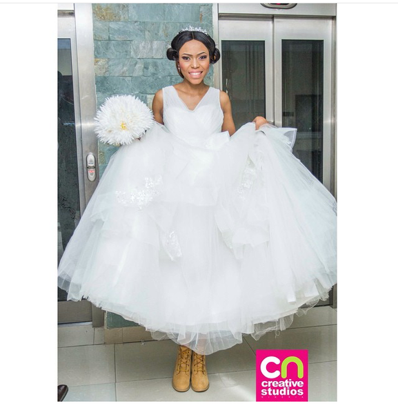 Nigerian Wedding Trend 2015 - Bridal Sneakers LoveweddingsNG 1