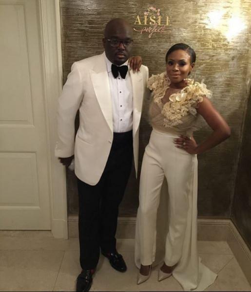 Nigerian Wedding Trends 2015 - Bridal Jumpsuit LoveweddingsNG