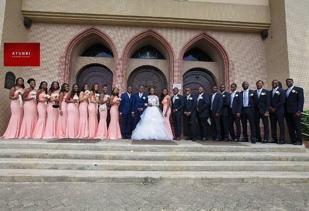 Nigerian Wedding Trends 2015 - Bridal Train Army LoveweddingsNG Atunbi