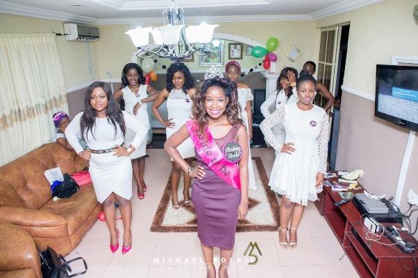 Nigerian Wedding Trends 2015 - Solange Inspired Pose Bridal Shower LoveweddingsNG
