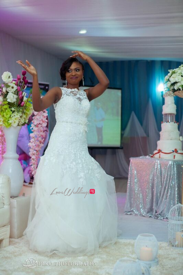 Nigerian White Wedding - Oluwadamilola and Olorunfemi LoveweddingsNG Diko Photography 15