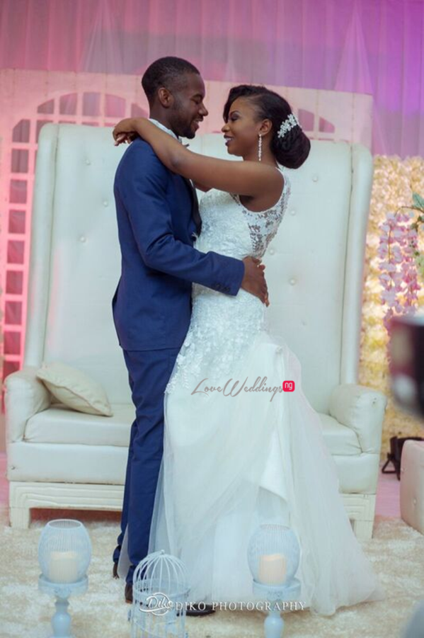 Nigerian White Wedding - Oluwadamilola and Olorunfemi LoveweddingsNG Diko Photography 17