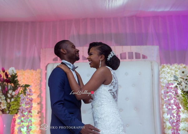 Nigerian White Wedding - Oluwadamilola and Olorunfemi LoveweddingsNG Diko Photography 3