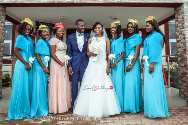 Nigerian White Wedding - Oluwadamilola and Olorunfemi LoveweddingsNG Diko Photography 7