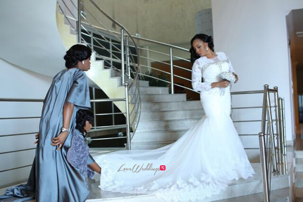 Nigerian White Wedding - Wonuola and Mayokun LoveweddingsNG 2