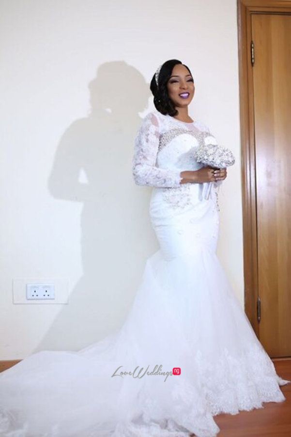 Nigerian White Wedding - Wonuola and Mayokun LoveweddingsNG 3
