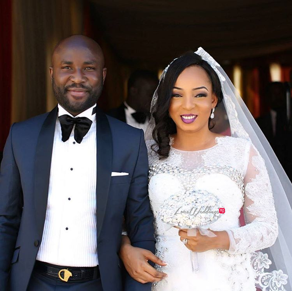 Nigerian White Wedding - Wonuola and Mayokun LoveweddingsNG 39