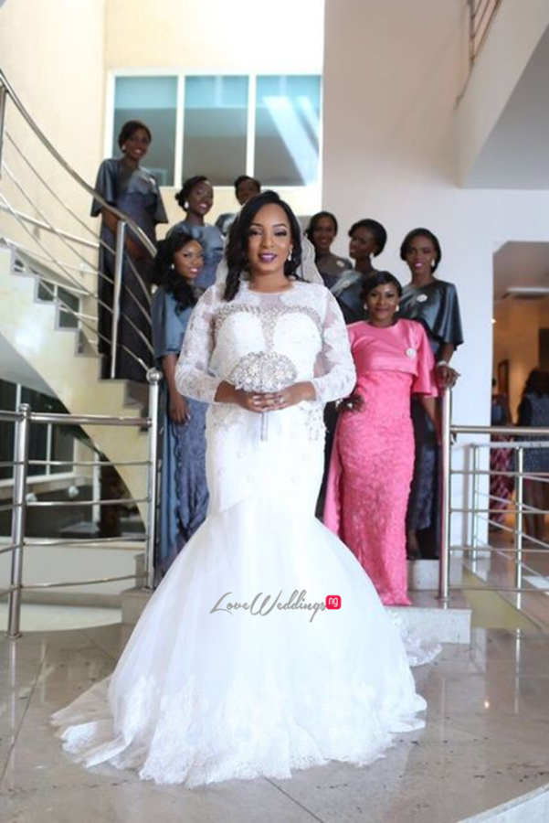 Nigerian White Wedding - Wonuola and Mayokun LoveweddingsNG 7