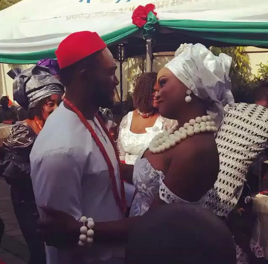 Nollywood Blossom Chukwujekwu traditional wedding LoveweddingsNG 4