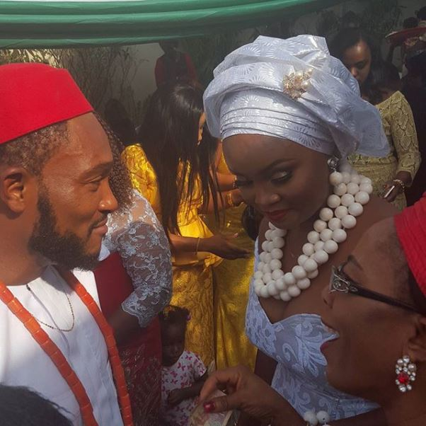 Nollywood Blossom Chukwujekwu traditional wedding LoveweddingsNG 5
